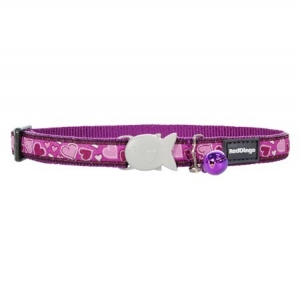 Red Dingo Love Breezy Cat Collar