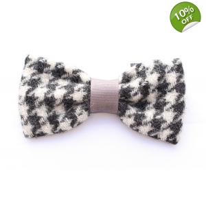 Houndstooth Tweed Bow Tie - Limted Edi..
