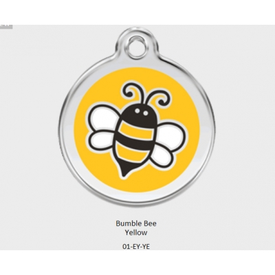 Red Dingo Yellow Bumble Bee Tag