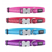 Blue Flying Bones Red Dingo Collar