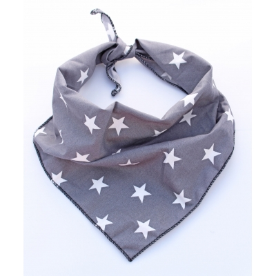 Grey Star Bandana