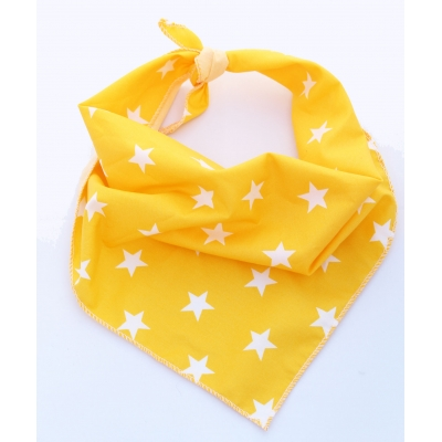 Yellow Star Bandana
