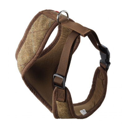 Brown Tweed Harness