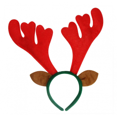 Reindeer Antlers Christmas Head Band