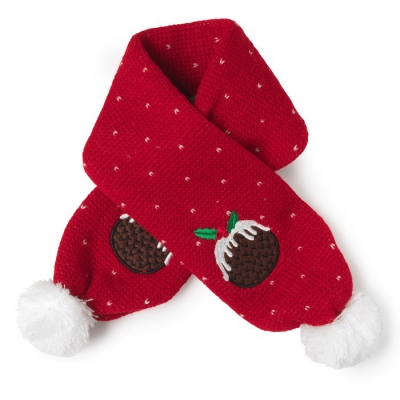 Christmas Pudding Scarf