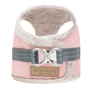 Yeti Rose Bowl & Bone Faux Suede Harness