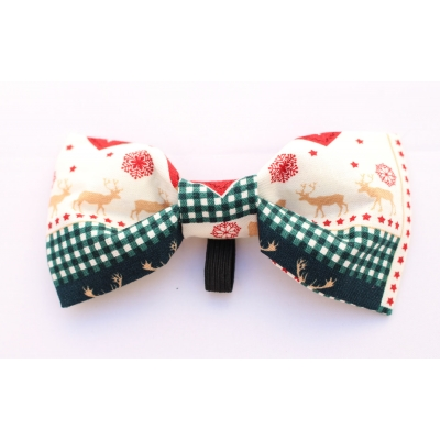 Reindeer Love Christmas Bow Tie