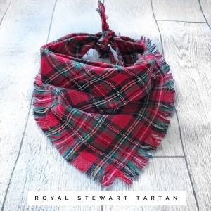 Frayed Royal Red Stewar..