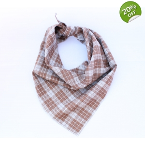 Biscuits Plaid Bandana