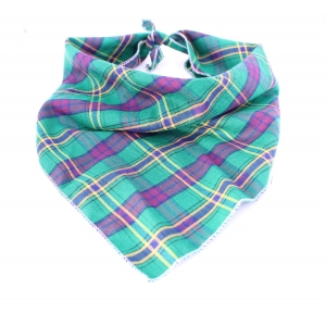 Green & Purple Plaid Ba..