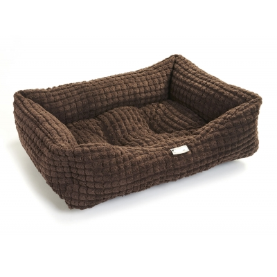 Chocolate Waffle Chenille Bed