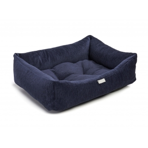 Navy Chenille Bed
