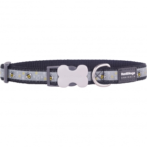 Black Bumblebee Red Dingo Collar