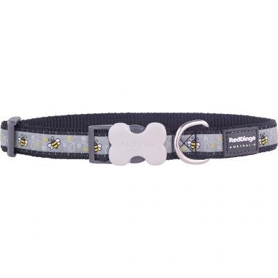 Black Bumble Bee Red Dingo Collar
