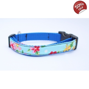 Blue Vintage Slim Fit Collar