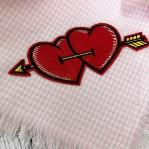 Frayed Valentines Bandana - Limited Edition