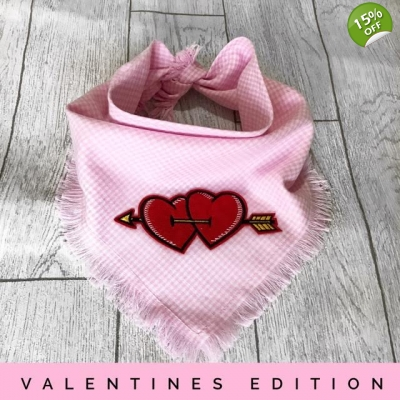 Frayed Valentines Bandana - Limited Edition title=