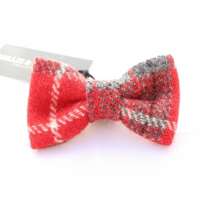 Red Luxury Tweed Bow Tie