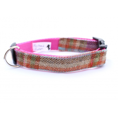 Foxy In Pink Tweed Collar