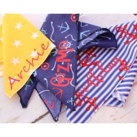 Personalised Yellow Star Bandana