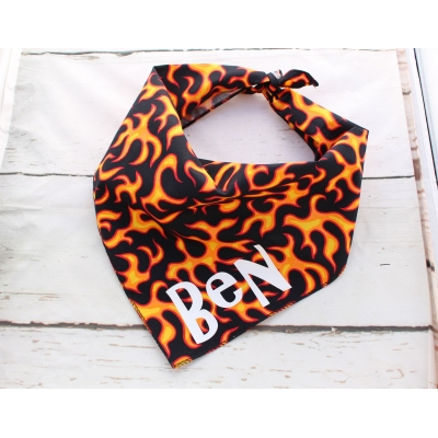 Personalised Flamin' Hot Bandana