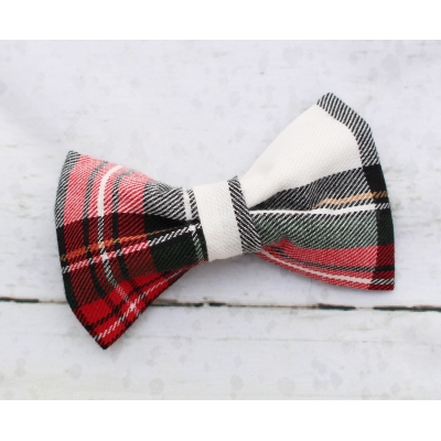 Alfies Plaid Bow Tie - Deluxe title=