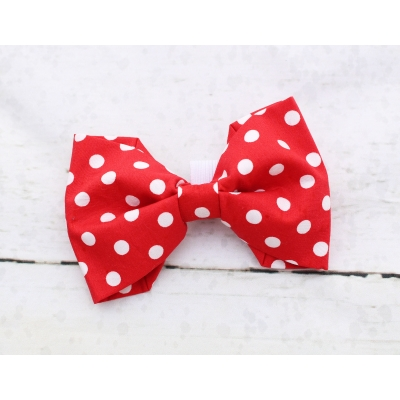 Red Polka Dot Bow Tie -..