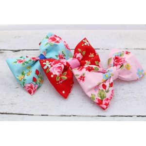 Red Vintage Bow Tie - Deluxe