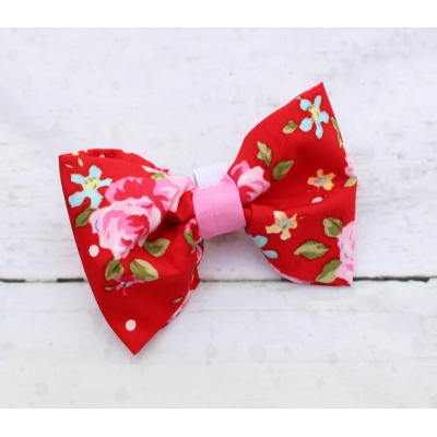 Red Vintage Bow Tie - Deluxe title=