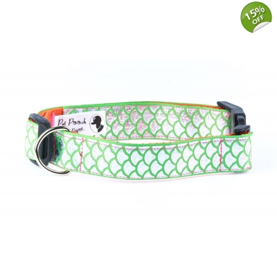 Green Mermaid Collar