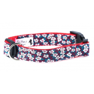 Liberty Blood Red Fifi Collar