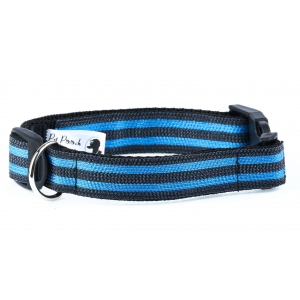 Blue & Black Mesh Collar