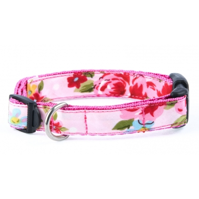 Pink Vintage Slim Fit Collar - 15mm wide
