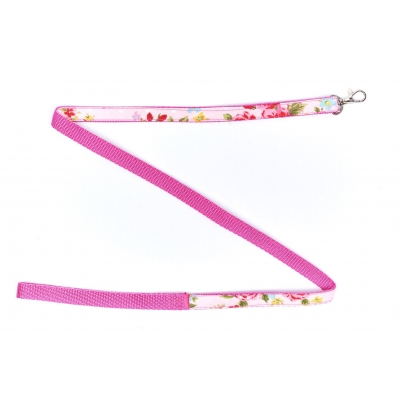 Pink Vintage Slim Fit Lead- 15mm wide title=