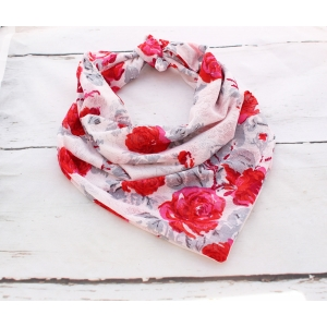 Lace Rose Double Sided Bandana