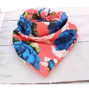Devils Blue Rose Double Sided Bandana