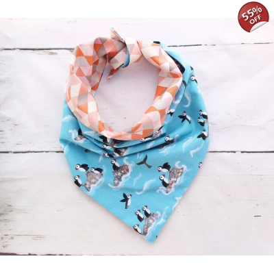 Puffin Party Double Sided Bandana XS/S