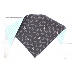 Midnight Stag Double Sided Bandana