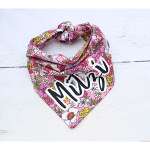 Wildflower Double Sided Bandana