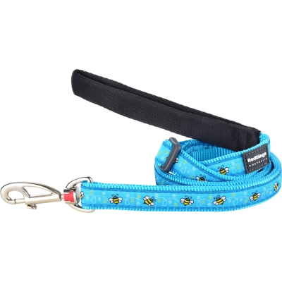 Blue Bumblebee Red Dingo Dog Lead