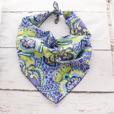 Frogs Green Dreams Summer Bandana