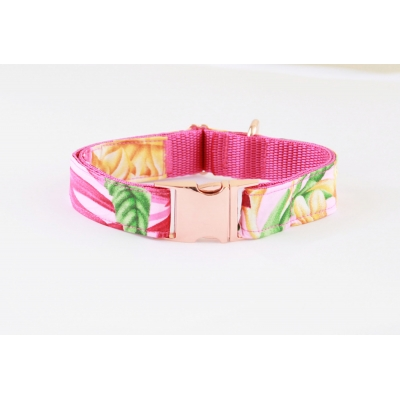 Jungle Bliss On Rose Gold Collar