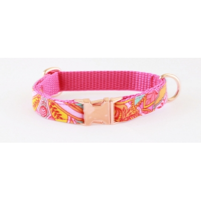Ibiza Summer On Rose Gold Slim Fit Collar - 15mm wide
