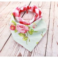 Southern Belle Red Double Sided Bandana
