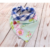 Southern Belle Blue Double Sided Bandana
