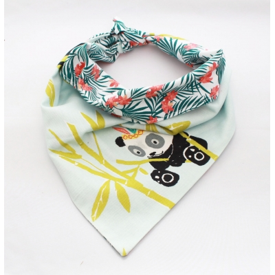 Tropic Panda Double Sided Bandana