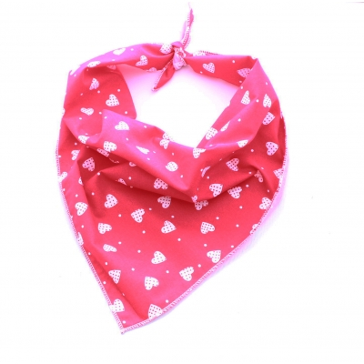 Patchwork Love Hearts Bandana