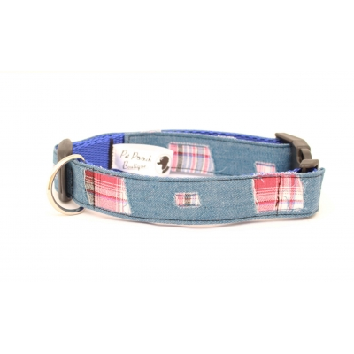 Denim Patch Collar