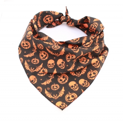 Black Monster Pumpkin Bandana