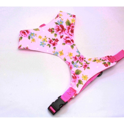 Pink Vintage Fabric Harness